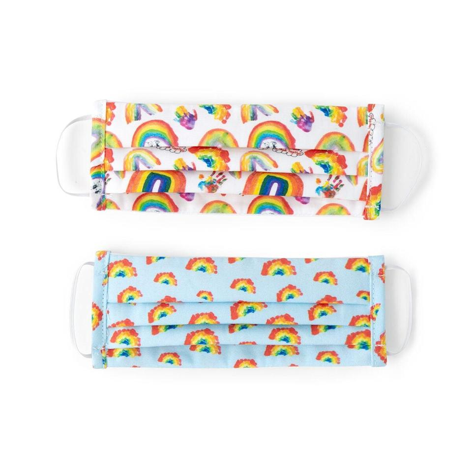<p>Little ones will love these colorful designed-by-kids <span>Uncommon Goods Children's Rainbow Face Coverings</span> ($25 for two). The best part is that 100 percent of proceeds from sales of will go to NYC's public hospitals.</p>