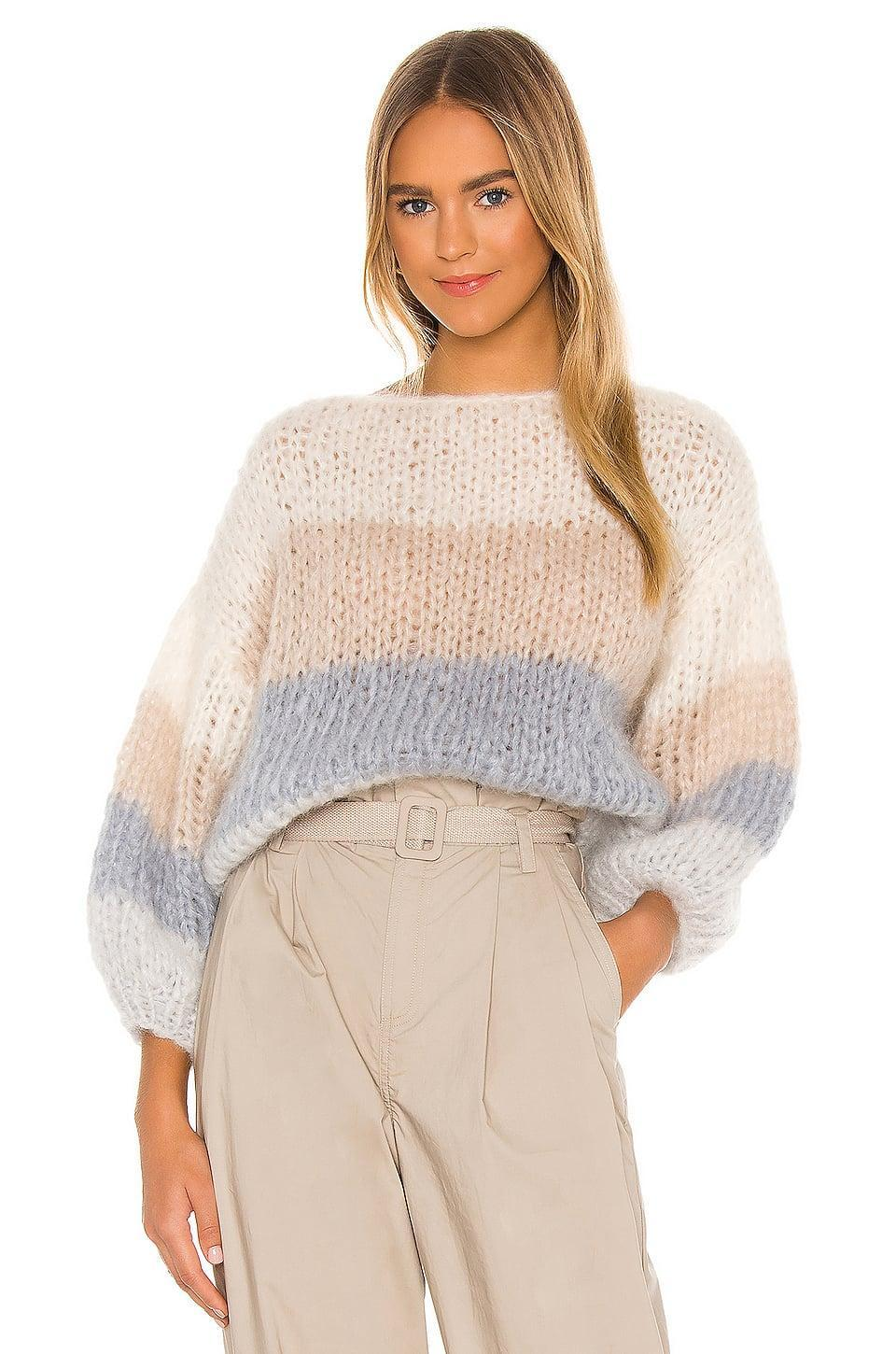 <p>We want to live in this <span>Maiami Mohair Big Sweater</span> ($429).</p>
