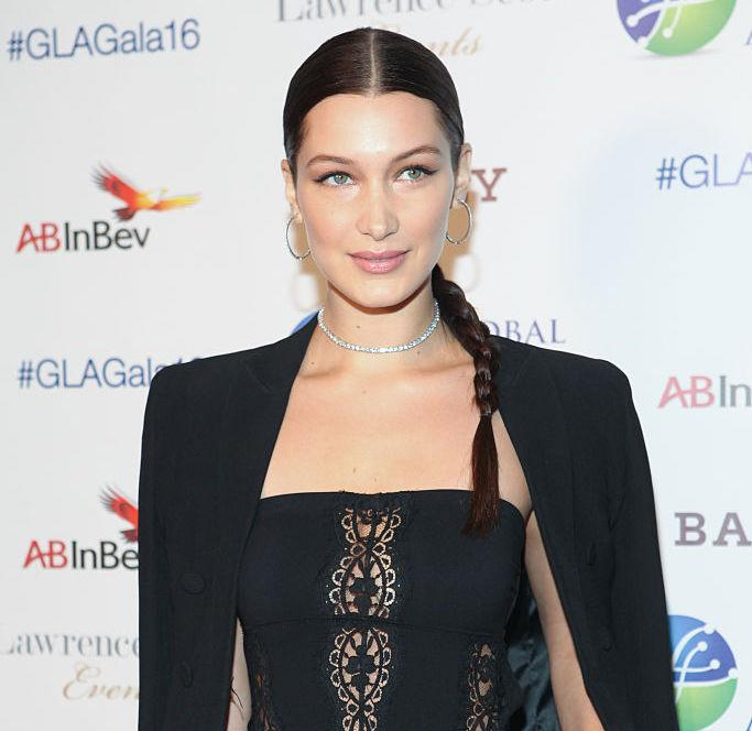 Following her rumored breakup with The Weeknd, Bella Hadid wears a necklace that speaks volumes