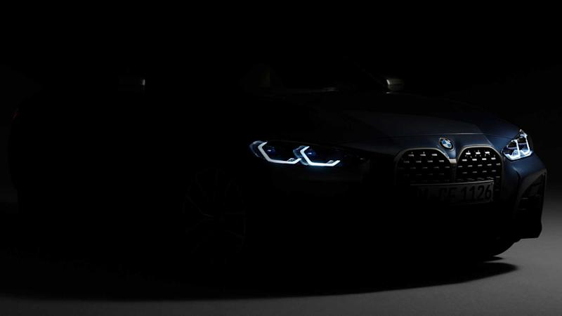 2021 BMW 4 Series Coupe teaser