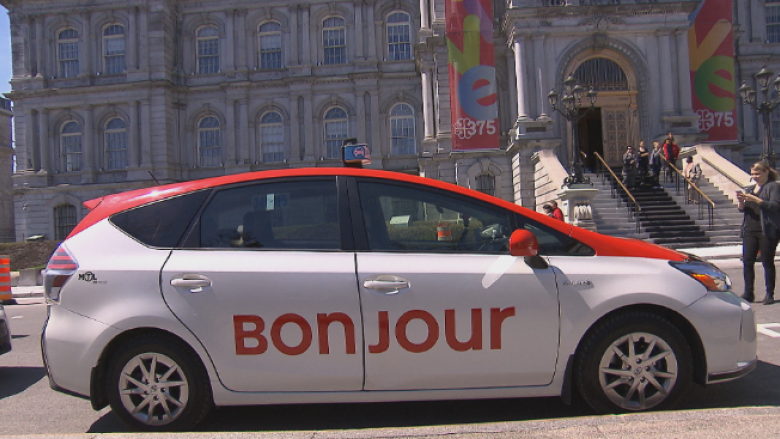 Montreal taxis hope to say 'Bonjour' to more clients through rebranding
