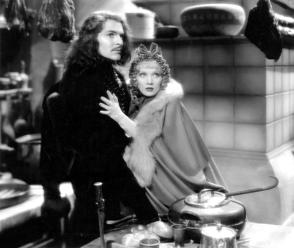 "Marlene Dietrich, ""<a href=""http://movies.yahoo.com/movie/the-scarlet-empress/"">The Scarlet Empress</a>"" - In the same vein, Dietrich again for her role as a young Catherine the Great in von Sternberg's ""The Scarlet Empress"" (1934). This is a masterpiece of Sternberg's excess and also Dietrich's power. In the origins of the movie, unlike Mata Hari, she is a rather pristine, almost elegant young maiden sent off on an arranged marriage to a madman. As the movie goes into its extremes (with a surprising Sam Jaffe as the mad emperor), she grows into a true empress, and ultimately destroys him."