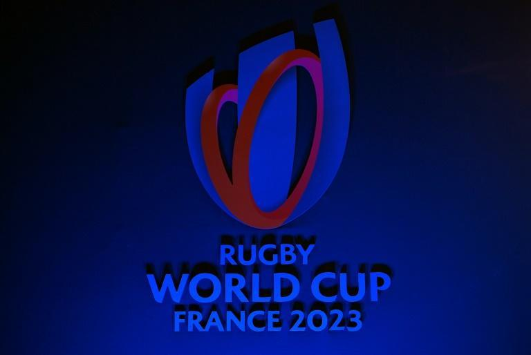 The 2023 Rugby World Cup logo