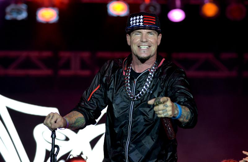 MIAMI, FL. - NOVEMBER 09: Vanilla Ice performance at Mega Beer and 90s Music Festival at Magic City Casino on November 9th, 2019 in Miami, FL. (Photo by Manny Hernandez/Getty Images)