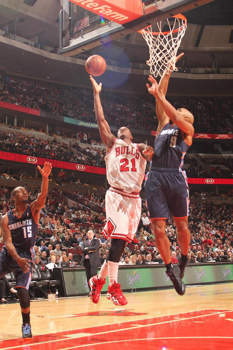 Bulls' Butler to miss trip with sprained big toe