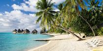 """<p>The island of <a href=""""https://www.bestproducts.com/fun-things-to-do/g21237324/most-beautiful-islands-in-the-world/"""" rel=""""nofollow noopener"""" target=""""_blank"""" data-ylk=""""slk:Bora Bora"""" class=""""link rapid-noclick-resp"""">Bora Bora</a> is famous for its jaw-droppingly beautiful beaches like <a href=""""https://www.tripadvisor.com/Attraction_Review-g311415-d309858-Reviews-Matira_Beach-Bora_Bora_Society_Islands.html"""" rel=""""nofollow noopener"""" target=""""_blank"""" data-ylk=""""slk:Matira"""" class=""""link rapid-noclick-resp"""">Matira</a>, which has calm azure waters and shallow lagoons. One of the best ways to experience the lagoons is to stay in a resort that offers fabulous <a href=""""https://www.bestproducts.com/fun-things-to-do/g2851/exotic-overwater-bungalows/"""" rel=""""nofollow noopener"""" target=""""_blank"""" data-ylk=""""slk:over-the-water bungalows"""" class=""""link rapid-noclick-resp"""">over-the-water bungalows</a> that are popular with honeymooners. </p><p><a class=""""link rapid-noclick-resp"""" href=""""https://go.redirectingat.com?id=74968X1596630&url=https%3A%2F%2Fwww.tripadvisor.com%2FHotel_Review-g311415-d304568-Reviews-Conrad_Bora_Bora-Bora_Bora_Society_Islands.html&sref=https%3A%2F%2Fwww.redbookmag.com%2Flife%2Fg34756735%2Fbest-beaches-for-vacations%2F"""" rel=""""nofollow noopener"""" target=""""_blank"""" data-ylk=""""slk:BOOK NOW"""">BOOK NOW</a> Conrad Bora Bora Nui</p><p><a class=""""link rapid-noclick-resp"""" href=""""https://go.redirectingat.com?id=74968X1596630&url=https%3A%2F%2Fwww.tripadvisor.com%2FHotel_Review-g311415-d597947-Reviews-The_St_Regis_Bora_Bora_Resort-Bora_Bora_Society_Islands.html&sref=https%3A%2F%2Fwww.redbookmag.com%2Flife%2Fg34756735%2Fbest-beaches-for-vacations%2F"""" rel=""""nofollow noopener"""" target=""""_blank"""" data-ylk=""""slk:BOOK NOW"""">BOOK NOW</a> The St. Regis Bora Bora Resort</p>"""