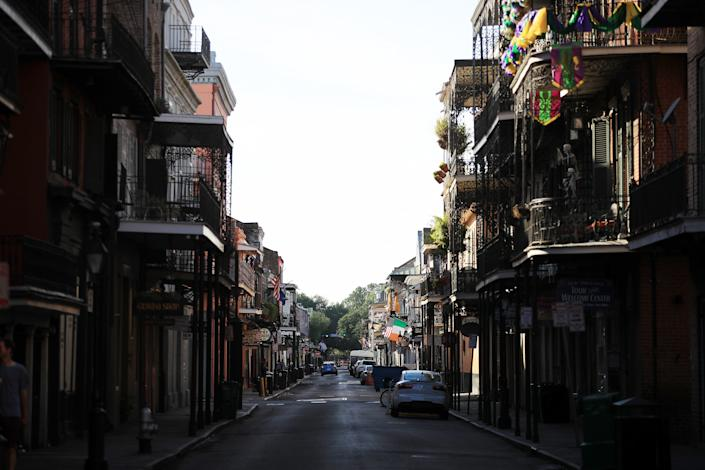 New Orleans has seen a rise in rat spotting as bars and restaurants close