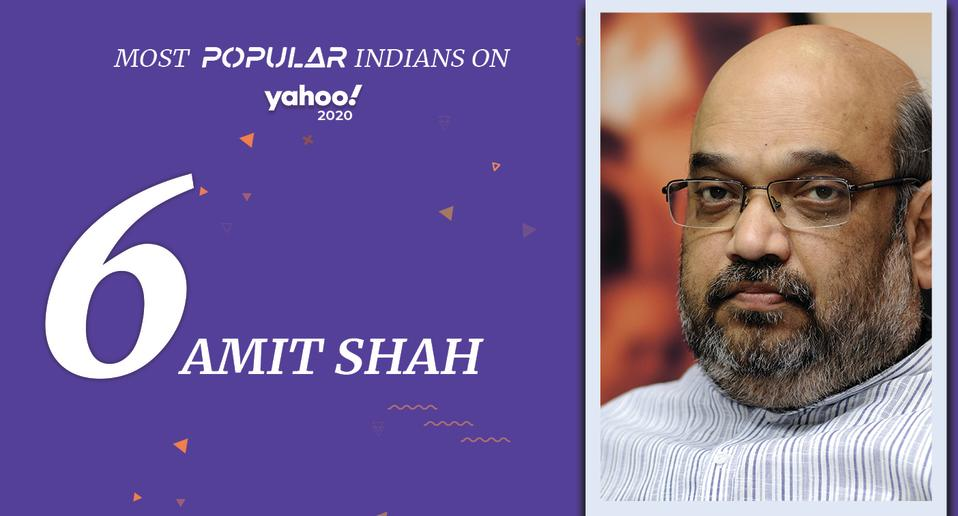 Amit Shah (born October 22, 1964) <br>India's Minister of Home Affairs