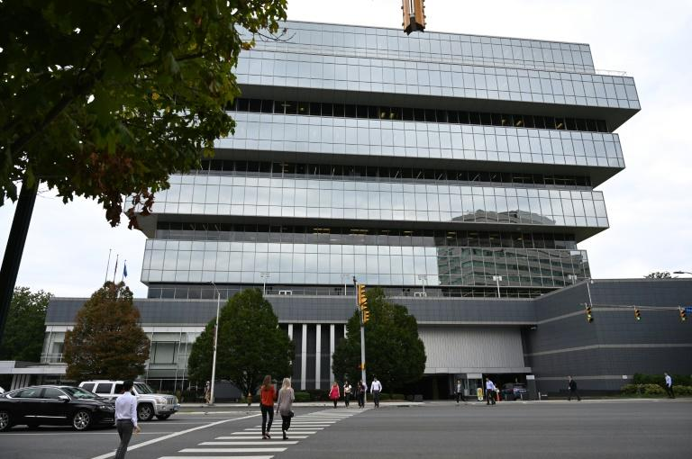 Headquarters of Purdue Pharma LP, the maker of the painkiller OxyContin, in Stamford, Connecticut (AFP Photo/TIMOTHY A. CLARY)