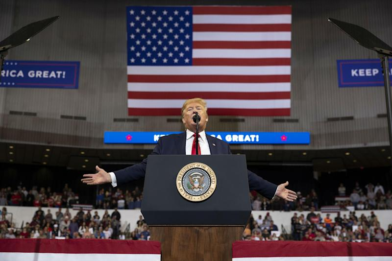 President's appearance in Bossier City was fourth campaign event in Louisiana: AP