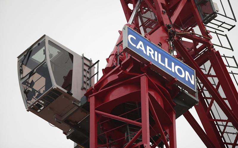 Carillion had a stock market value of just £100m prior to its failure - PA