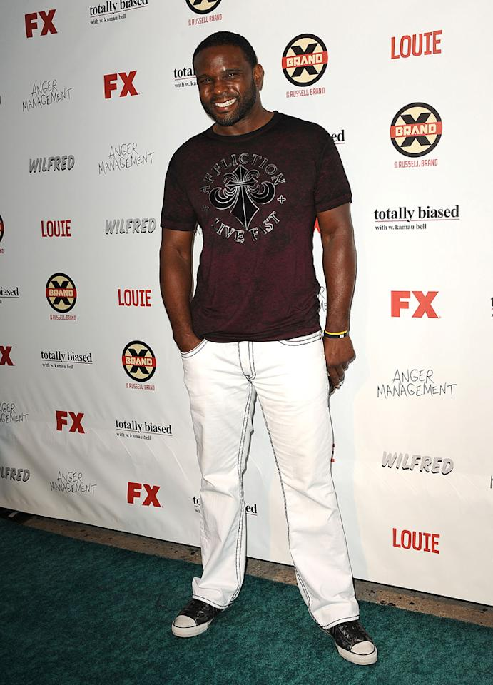 Darius McCrary attends the FX Summer Comedies Party at Lure on June 26, 2012 in Hollywood, California.