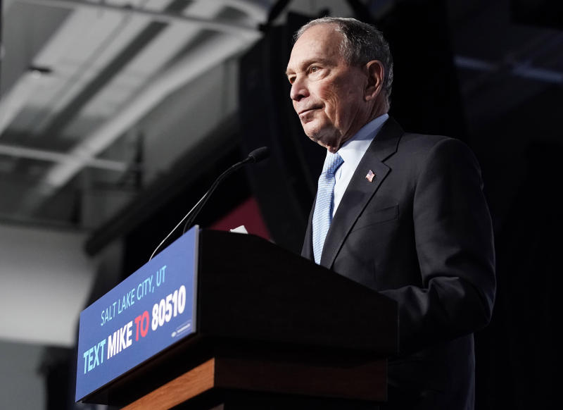 Bloomberg spends about $7 million per day on his campaign, latest filing shows