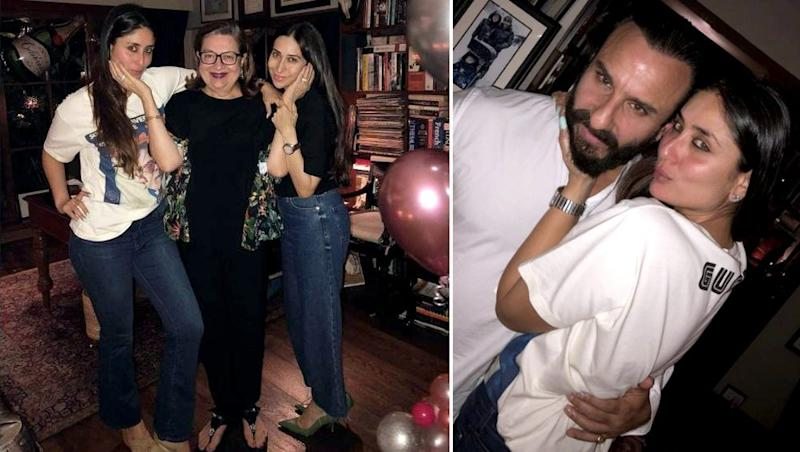 Rockstar Kareena Kapoor Rings In Her Birthday With Saif Ali Khan, Karisma and The Kapoor Khandaan - See INSIDE Party Pics
