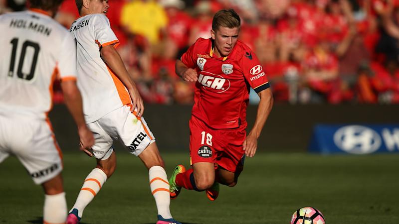 VIDEO: Adelaide United star gets away with ridiculous dive
