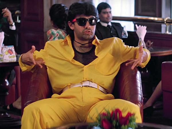 <p>Mr Perfectionist, I am guessing, wasn't all that of a perfectionist back in the day. I would still be okay if this were Govinda, but that its Aamir Khan makes me so mad. Sunflower yellow trousers teamed with sunflower yellow shirt. Like… when even was this in vogue? Please let us know if any one of you have ever tried this look. </p>
