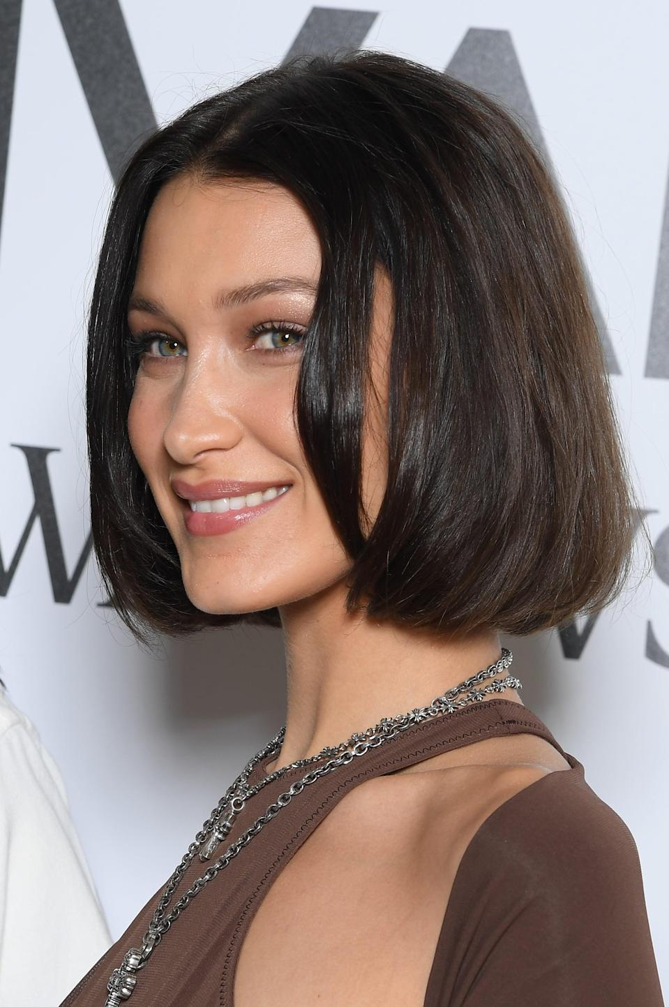 <p>Bella Hadid shocked us all when she debuted a short bob haircut in 2019. </p>