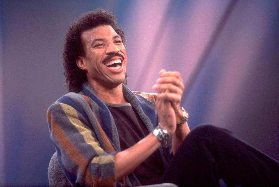<p>Richie's famous mustache was not just an act. It defined his whole style throughout his music career and has become part of his trademark look. </p>