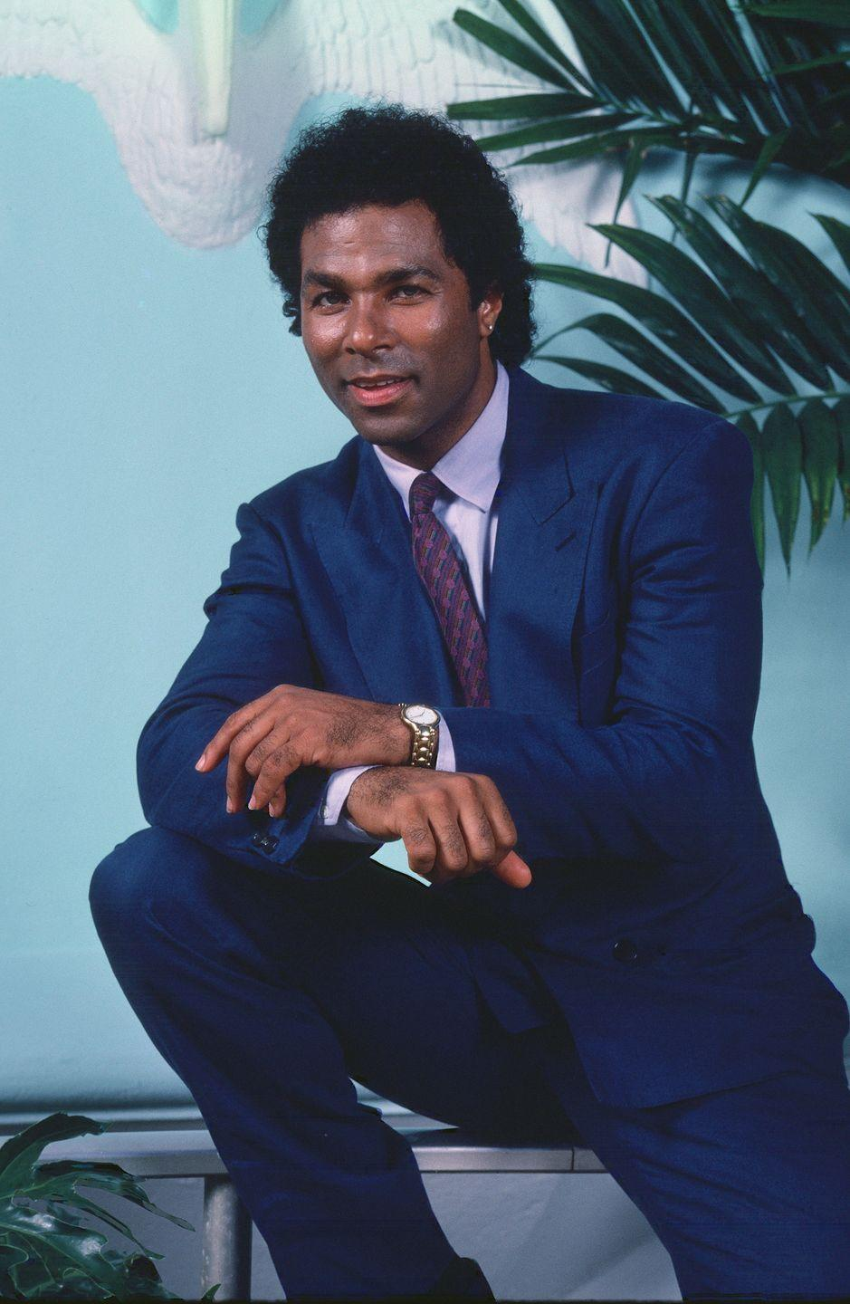 <p>Of all the iconic '80s shows, there's no doubt that <em>Miami Vice</em> had one of the hottest male duos on the small screen. Philip Michael Thomas, alongside his costar Don Johnson (more on him in a minute), led the sharply-dressed team as Detective Ricardo Tubbs.</p>