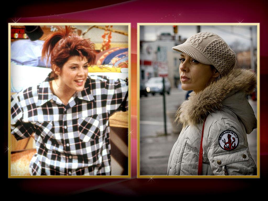 """Marisa Tomei — Most of us met Tomei in her Oscar-winning role as Joe Pesci's loudmouthed fiancée Mona Lisa in 1992's """"My Cousin Vinny."""" But before that, Tomei hit the small screen as Denise's classmate Maggie on the first season of NBC's """"Cosby Show"""" spinoff """"<a href=""""http://tv.yahoo.com/a-different-world/show/29986"""" rel=""""nofollow"""">A Different World</a>."""" Tomei later proved her surprise Oscar win was no fluke, earning nods for 2001's """"In the Bedroom"""" and 2008's """"The Wrestler."""""""
