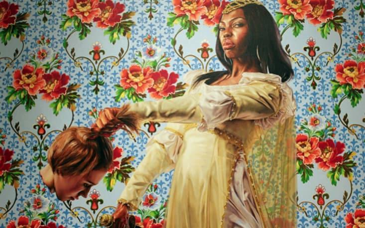Judith and Holofernes, by Kehinde Wiley  - Twitter