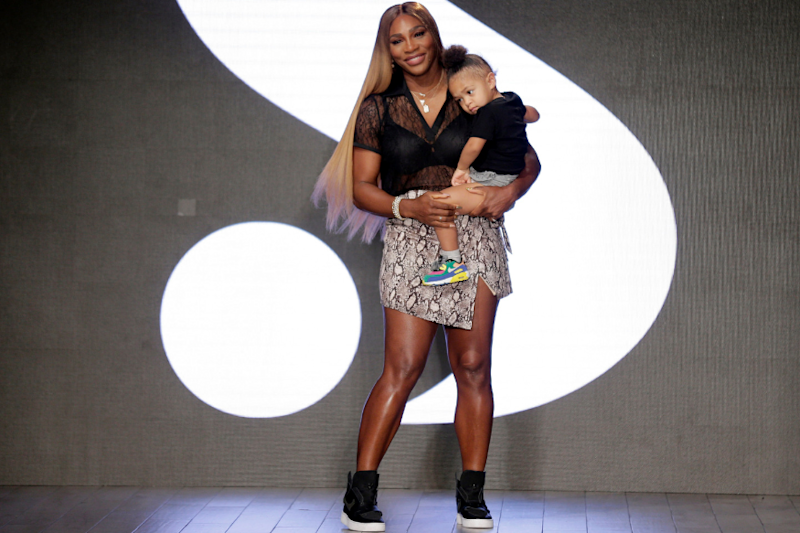 Serena Williams Wins New York Fashion Week as She Walks Runway With Adorable Daughter
