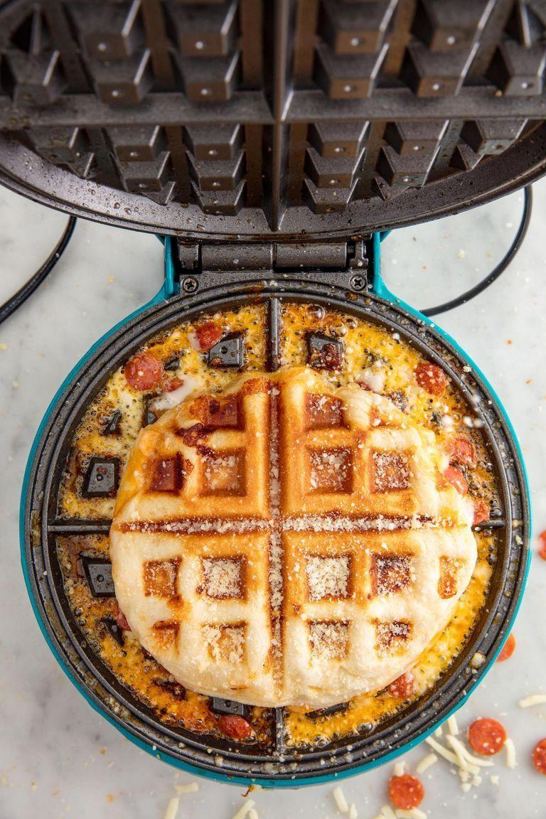 <p>Get the Pizza Waffles recipe.</p>