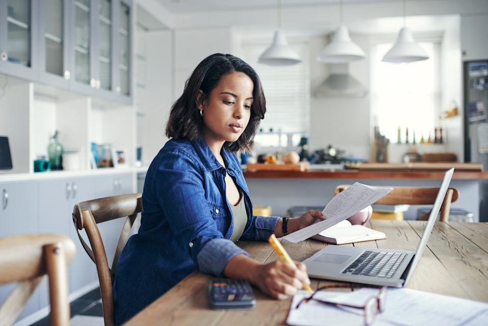 A survey has found that 91% of the general working population would like to continue to work from home. Photo: Getty