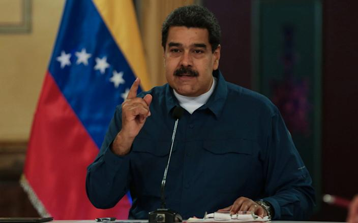Maduro said in a televised address that he was making the changes to challenge illegal smuggling - REUTERS