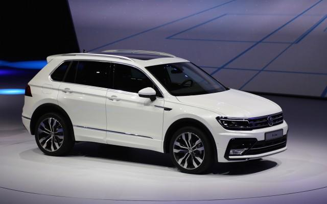 2017 Vw Tiguan Suv Aims For U S With Third Row Higher Mpg