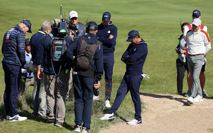 Koepka continues to recover from a wrist injury sustained at this month's Tour Championship - Getty Images