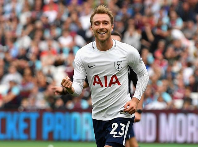 Christian Eriksen is firing on all cylinders at Tottenham