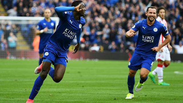 The British gaffer hailed the Nigeria international for after his stunning opener helped the Foxes ease past the Potters