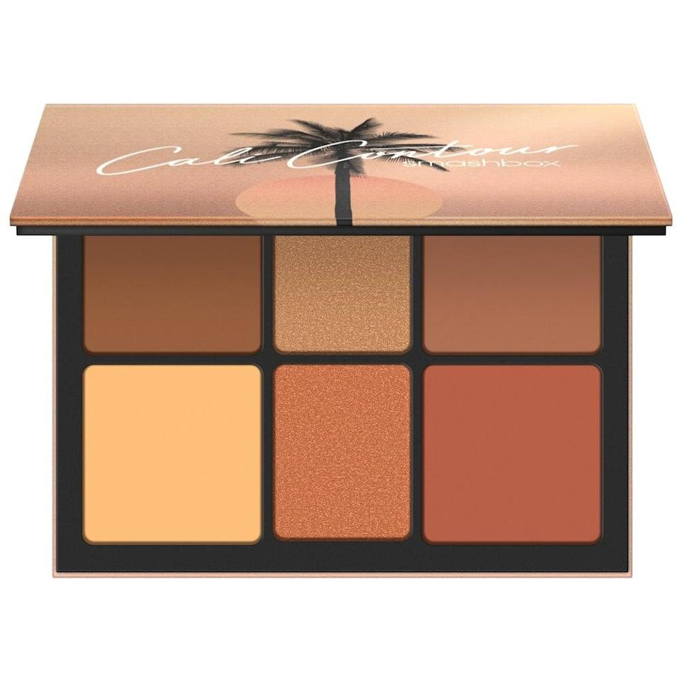 <p>Get that beachy glow with the <span>Smashbox Cali Contour Face Palette</span> ($39).</p>