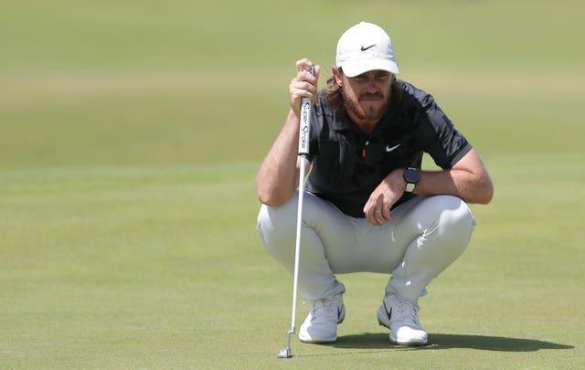 Tommy Fleetwood is firmly in contention