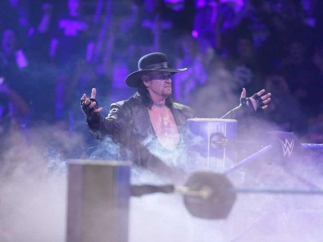 The Undertaker has joked he could delay his retirement in order to fight Piers Morgan (WWE)
