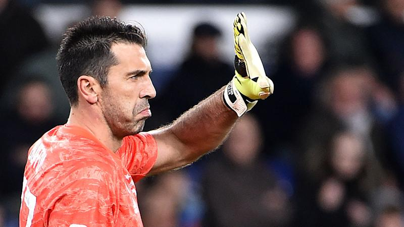 Pictured here, Gianluigi Buffon holds the record for most games played for Juventus.