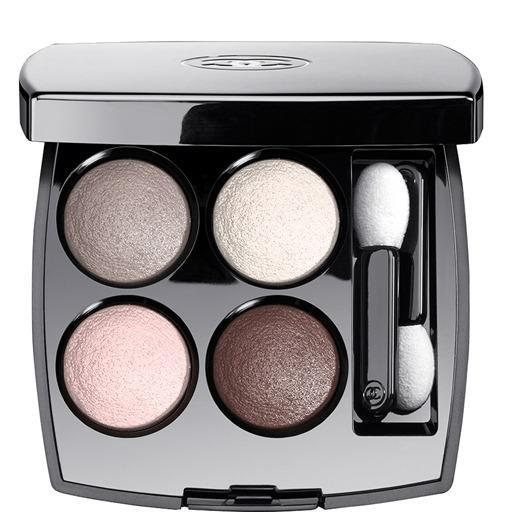 """<p>Burton says there's a very important reason to splurge on your shadows: """"The silkier the shadow, the more awake you'll look,"""" she explains. """"Avoid cheap formulas that are dry – they will accentuate fine lines."""" Her go-to pick is <a href=""""http://www.bobbibrowncosmetics.com/product/2330/8197/Makeup/Eyes/Eye-Shadow/Eye-Shadow"""" rel=""""nofollow noopener"""" target=""""_blank"""" data-ylk=""""slk:Bobbi Brown's"""" class=""""link rapid-noclick-resp"""">Bobbi Brown's</a> """"silky, matte, smooth and blendable"""" formula ($25). Also try <a href=""""http://www.sephora.com/couture-palette-P387052?skuId=1627397"""" rel=""""nofollow noopener"""" target=""""_blank"""" data-ylk=""""slk:Yves Saint Laurent Couture Palette"""" class=""""link rapid-noclick-resp"""">Yves Saint Laurent Couture Palette</a> ($60) and <a href=""""http://www.chanel.com/en_US/fragrance-beauty/Makeup-Eyeshadow-LES-4-OMBRES-89128"""" rel=""""nofollow noopener"""" target=""""_blank"""" data-ylk=""""slk:Chanel Les 4 Ombres"""" class=""""link rapid-noclick-resp"""">Chanel Les 4 Ombres</a> ($61, pictured left). <i>Disclaimer: Bobbi Brown it the editor in chief of Yahoo Beauty. </i></p>"""