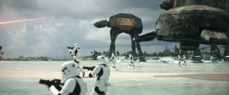 Rogue One: A Star Wars Story Battle of Scarif