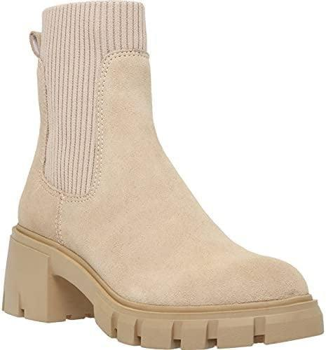 <p>These cute <span>Women's Lug Sole Platform Ankle Boots</span> ($53) are perfect for fall. It's comfortable and non-slip perfect for all types of weather. It comes in a variety of different colors and prints. </p>