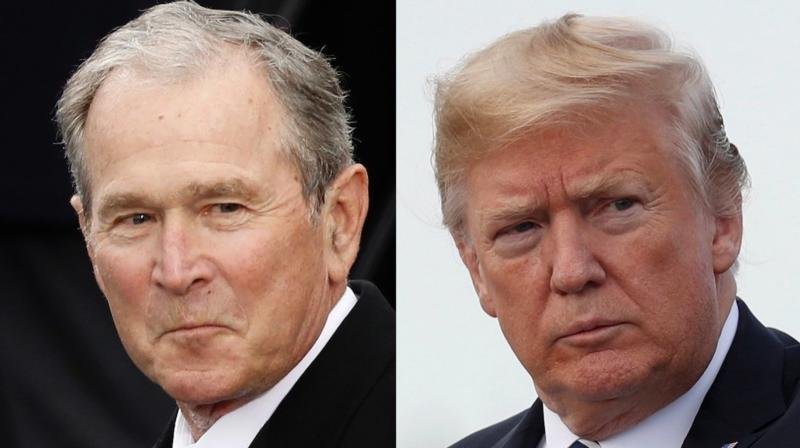 George W. Bush Reportedly Sounds Off On Trump: 'Sorta Makes Me Look Pretty Good'