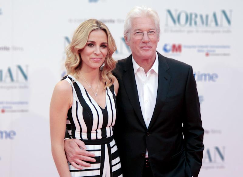 Richard Gere Reportedly Married Alejandra Silva in a Secret Ceremony in Early April