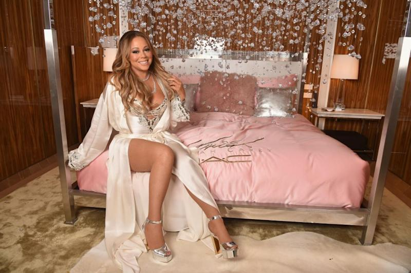 Mariah loves the glamorous side of life. Source: Getty