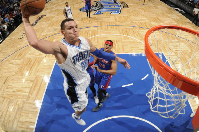 "The Magic need <a class=""link rapid-noclick-resp"" href=""/nba/players/5295/"" data-ylk=""slk:Aaron Gordon"">Aaron Gordon</a> to soar if they're going to have a chance of rising up the Eastern standings. (Getty)"
