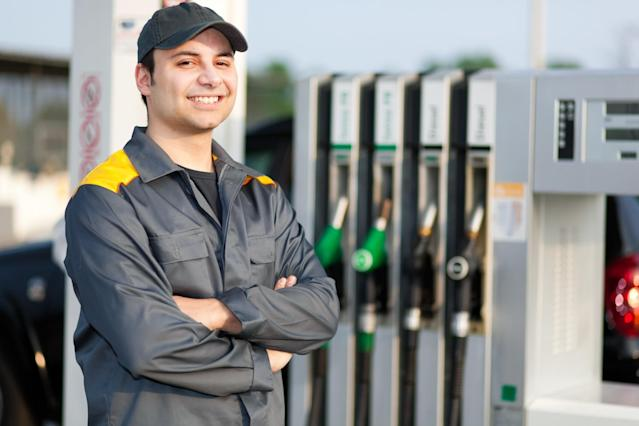 <p>No. 5 lowest-paid job: Service station attendant<br>Average full-time hourly wage: $13.05<br>(Minerva Studio / Getty Images) </p>
