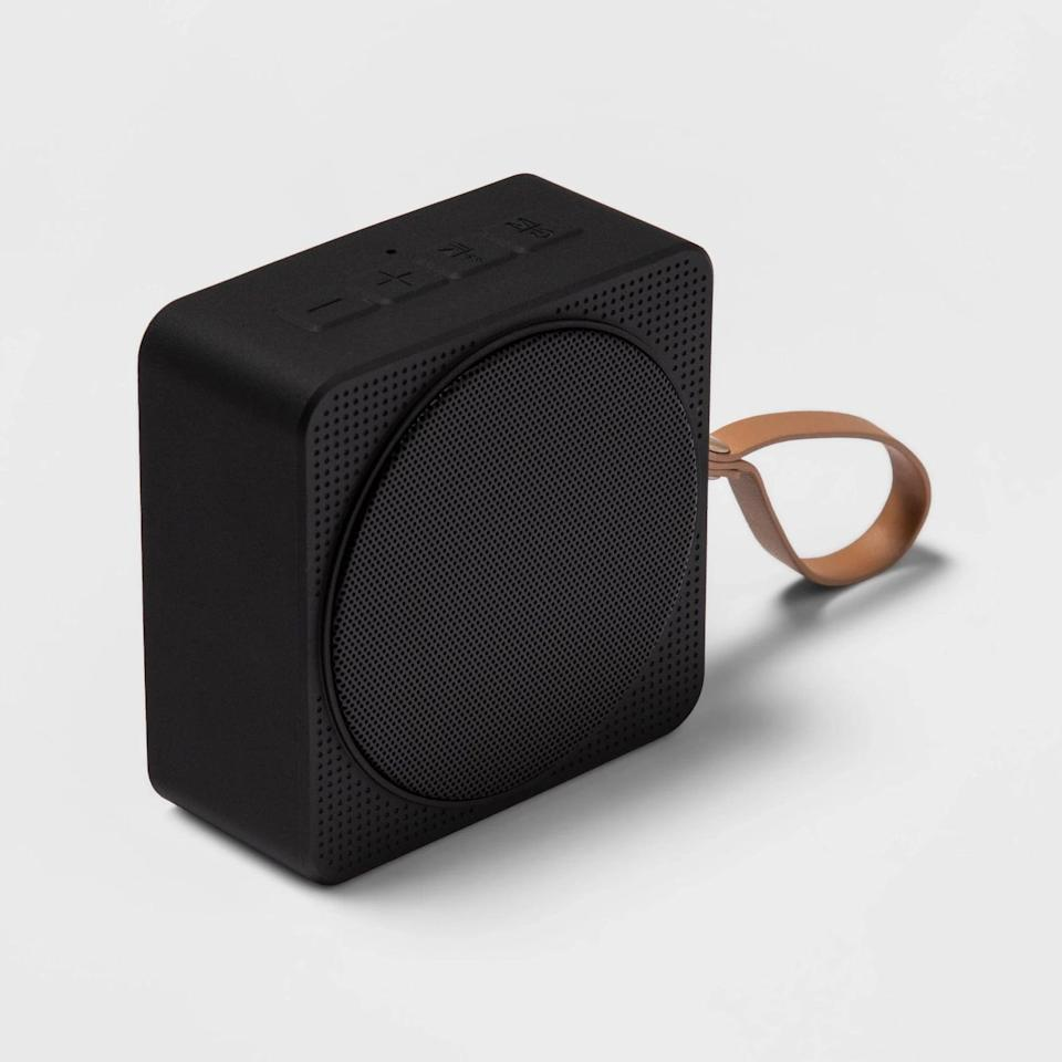 <p>You can't go wrong with the <span>Heyday Small Portable Bluetooth Speaker with Loop</span> ($20). They can use it to listen to their favorite podcasts and playlists indoors and outdoors.</p>