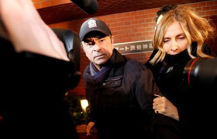 Wife of former Nissan boss Ghosn urges Trump to help her husband