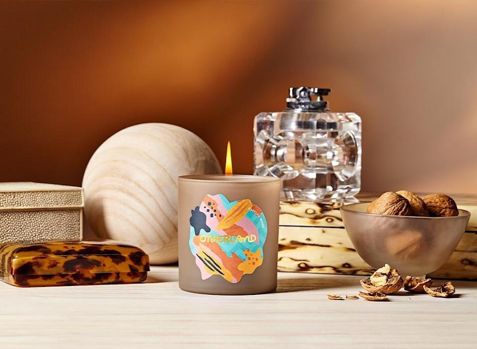 <p>If they like sandalwood-inspired scents, then get the <span>Otherland Manor House Weekend</span> ($36). The pretty candle has a 50-hour burn time.</p>