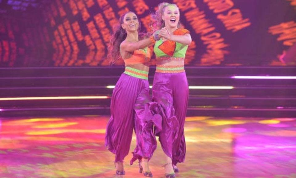JoJo Siwa and her professional dancing partner, Jenna Johnson, are the first same-sex partnership to appear on Dancing with the Stars