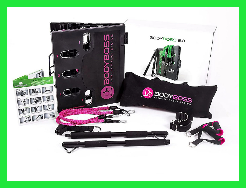 Save $34 on this BodyBoss 2.0 Full Portable Home Gym. (Photo: QVC)